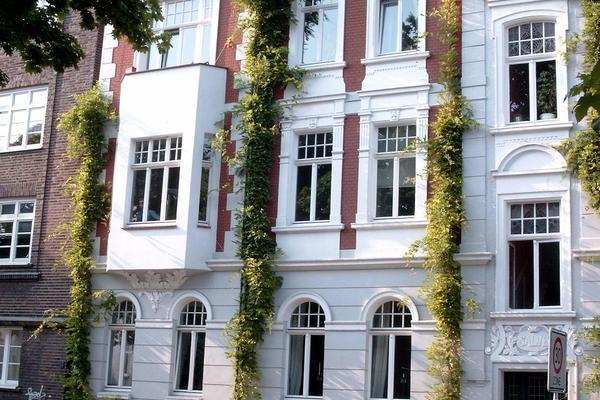 Altbauaußenfassade